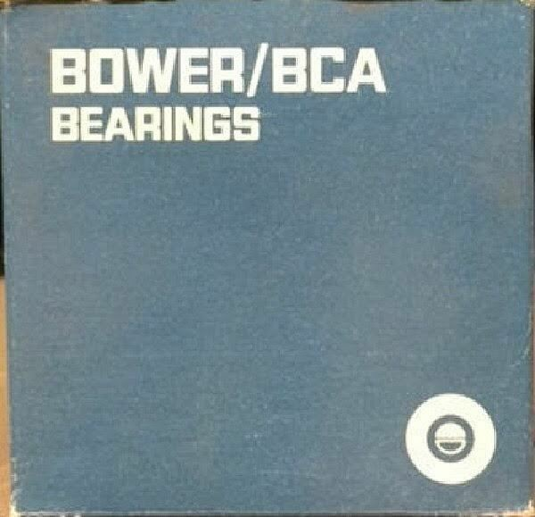BOWER 750A TAPERED ROLLER BEARING