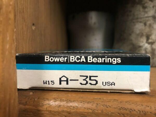 Federal Mogul Bower BCA bearings w15 A-35 (W8)